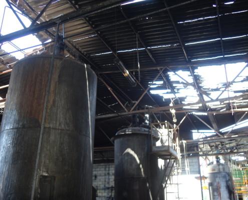 Investigación y origen de incendios industriales