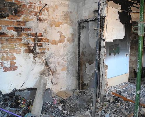 IInvestigación de Incendios domésticos